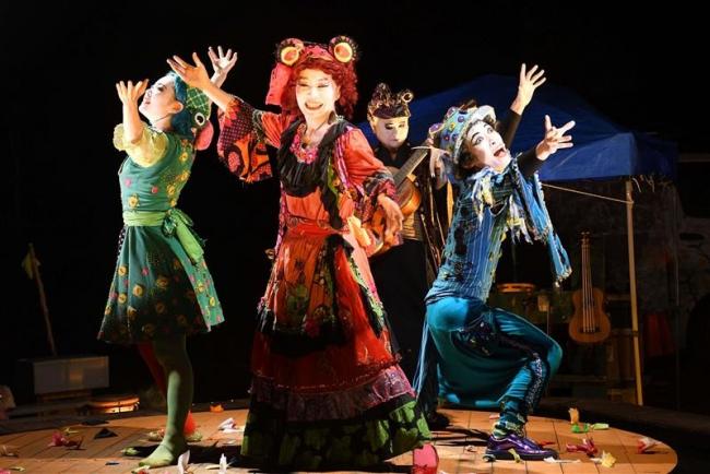 投げ銭で全国旅公演 家族4人の劇団「楽市楽座」帯広で2日から芝居