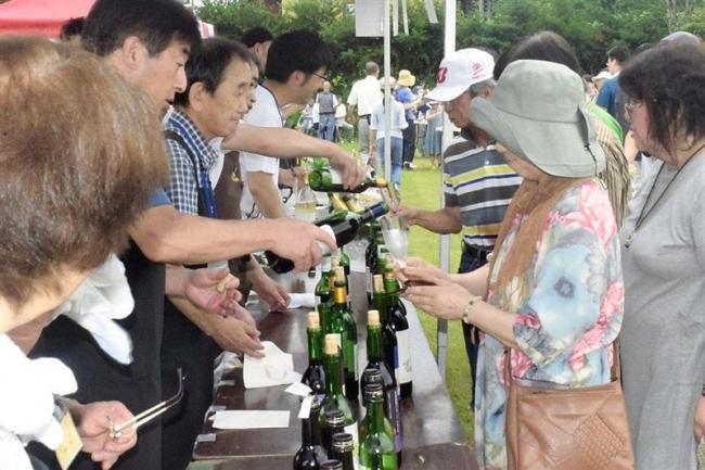 十勝ワイン楽しむ町民パーティー盛況 池田