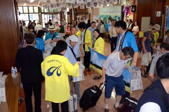 名古屋季節運航 なつぞらジェットでスタート 観光客多く搭乗率80%期待