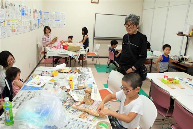 芽室で子どもアート体験