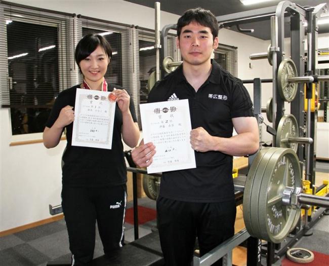 パワーリフティングPBAジムの伊藤と鈴木 全国目標に精進