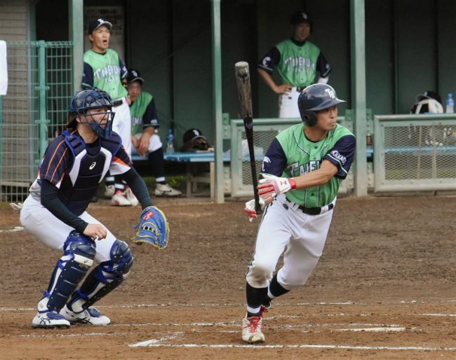 TAKEKUMA BASE初出場V、スポーツマスターズ野球十勝予選