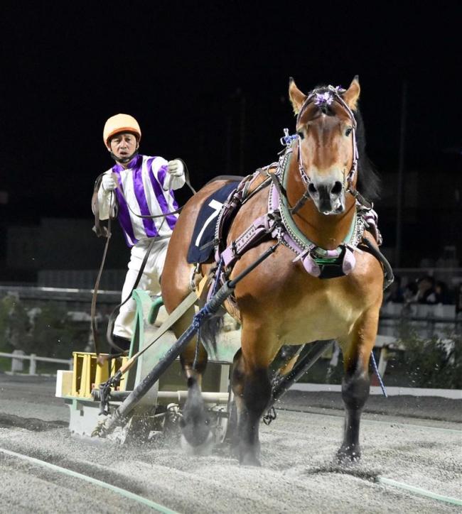 ばんえい大賞典 メムロボブサップV 重賞3勝目