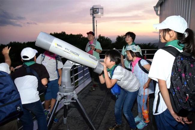 陸別で木星・土星観望会