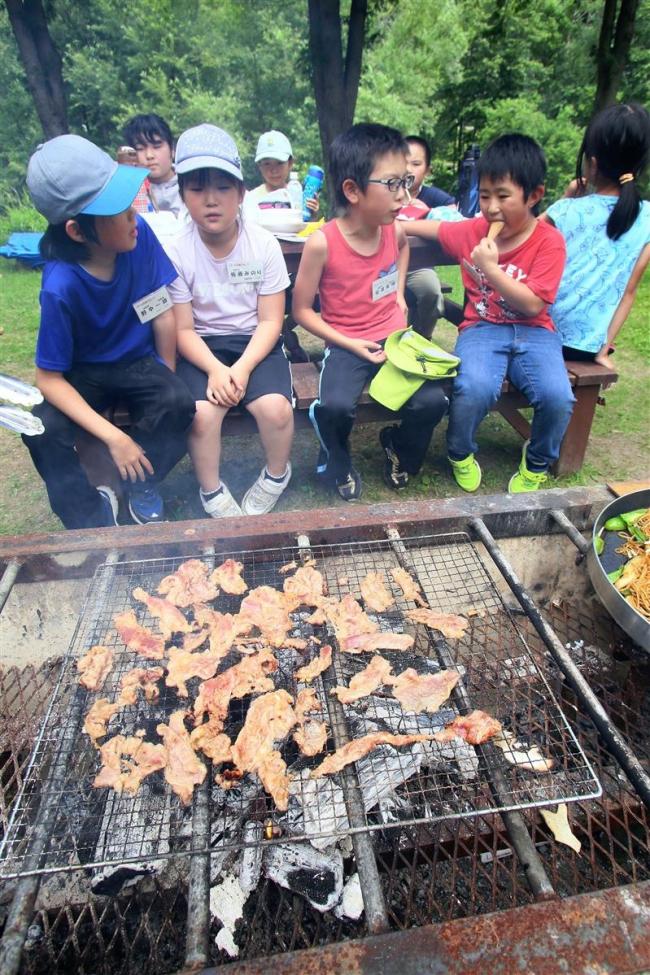 本別 夏休みキャンプ「自然探偵団」を開催