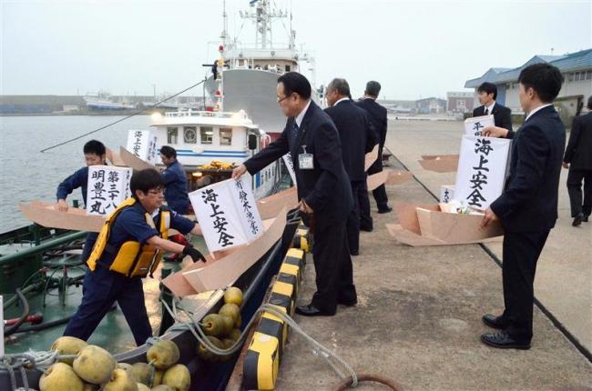 広尾漁協が魚霊祭