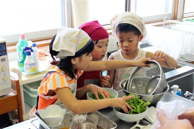 士幌で子ども料理教室
