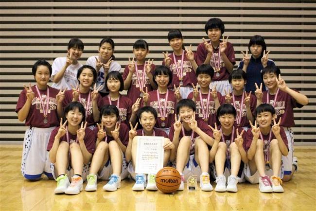 十勝から女子9年ぶり出場の帯翔陽「決勝T進出を」、全国中体連バスケ