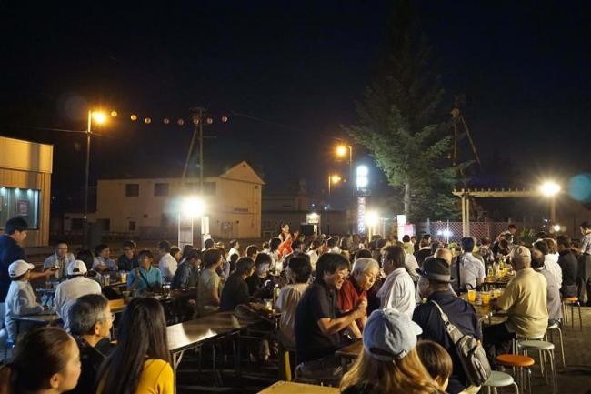 士幌で「ビール祭り」