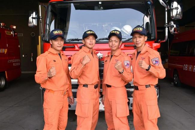 全国消防救助技術大会に浦幌、芽室消防の4人出場