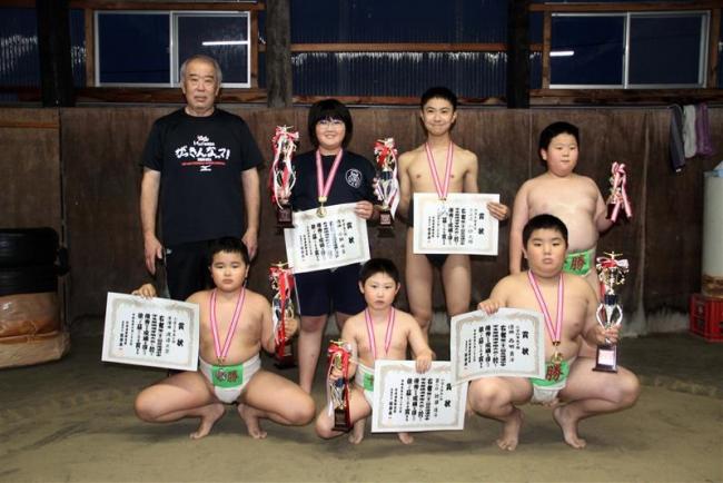 渡邉わんぱく相撲V、西明は道選手権3年連続V 十勝連盟の小・中学生選手