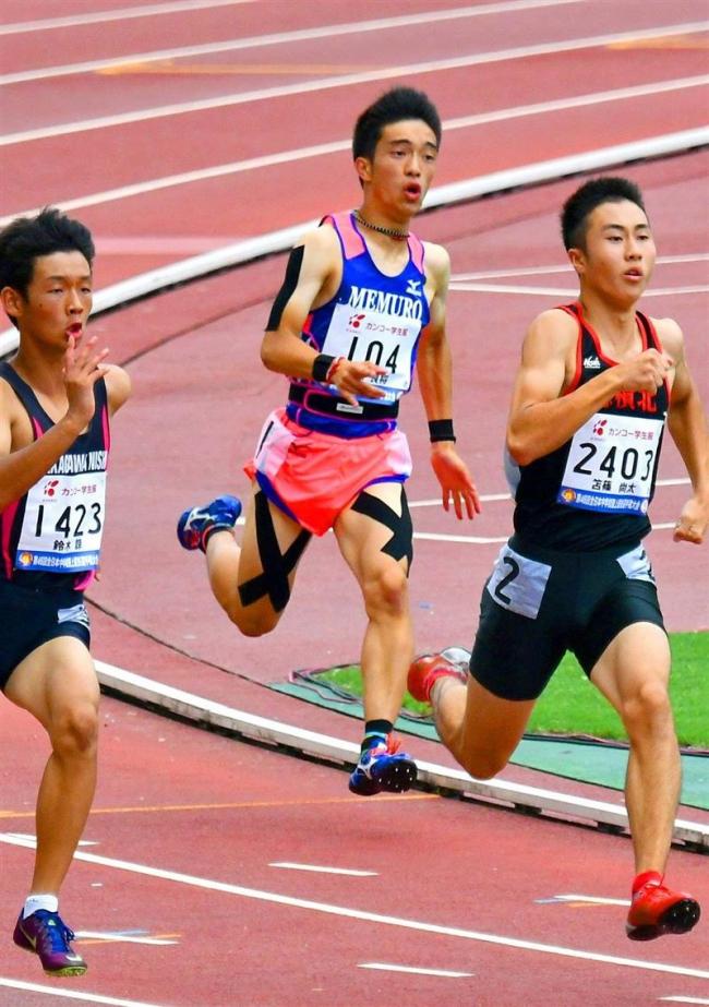 東原(芽室)予選組7位で準決勝進出逃す 全国中体連陸上