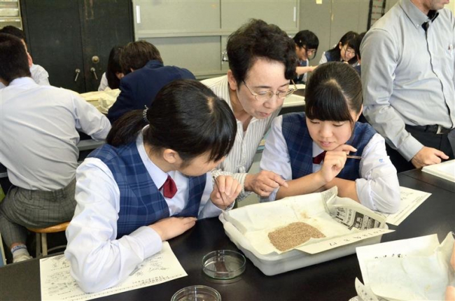 大樹高で考古学授業 東北大名誉教授の深澤氏