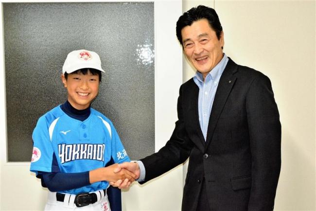 全国8強入り報告 女子野球の野口さん 池田