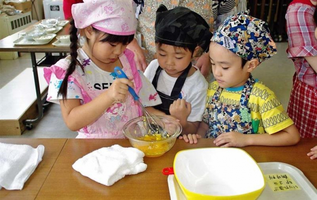 子どもらが料理に挑戦 浦幌