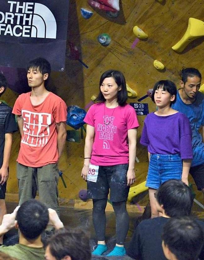 ボルダリング道地区予選、士幌の西村小百合が女子クラス2位全国へ