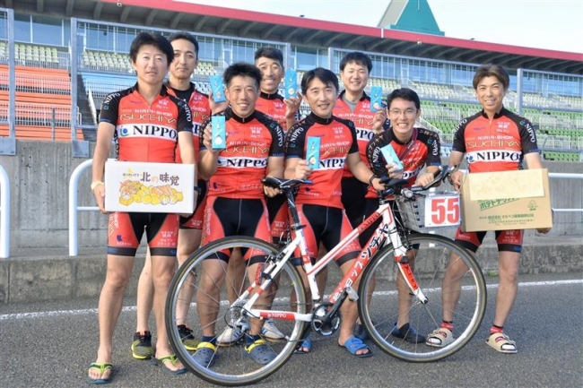 チーム二輪ショップツチヤが総合優勝 更別のママチャリ耐久レース