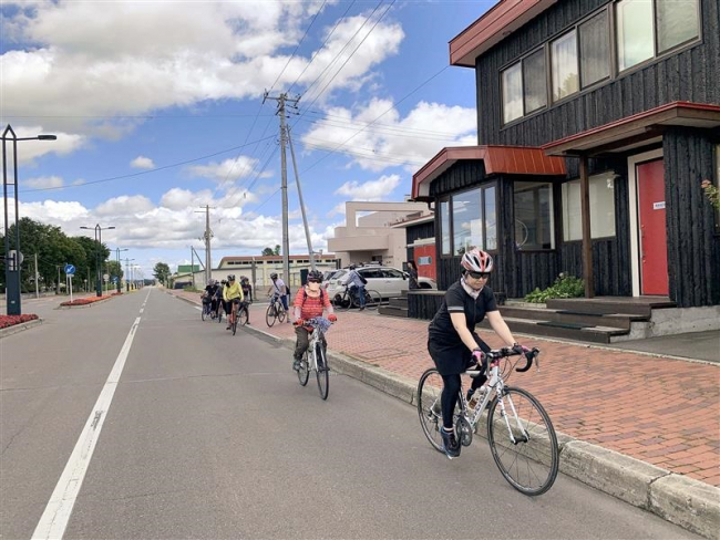 更別でサイクリングツアー