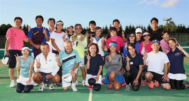 TEAM HAT1がA制覇 中川昭一杯テニス 全国から270人参加