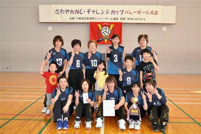 星雲3連覇 さわやかNCチャレンジカップバレーボール大会