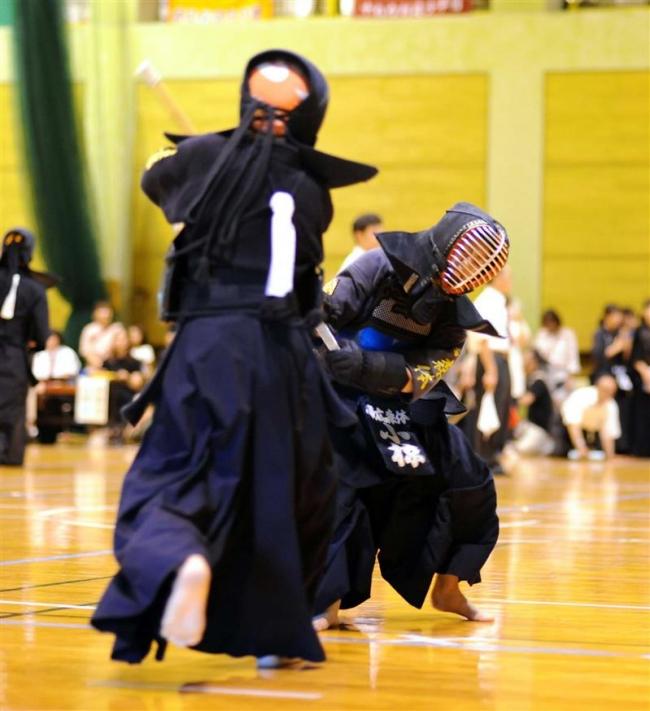 帯森体の小椋健人小学男子高学年制す 全十勝少年剣道団体優勝大会