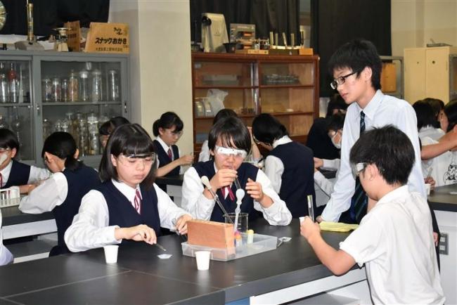 幕別清陵高オープンスクールに140人参加