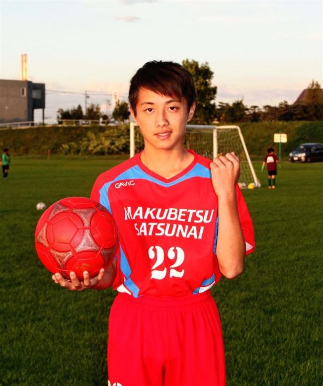 幕別札内FCの品田太郎、日本協会U13キャンプに参加