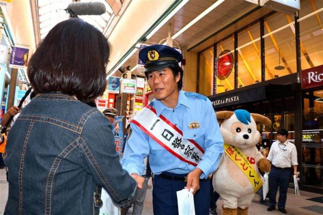 こぼれ話「なつぞら番長の板橋さん、札幌中央署で一日署長」