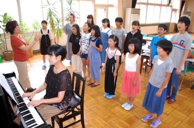先生に歌声届け 22日に岩井さん追悼コンサート アドニス少年少女合唱団