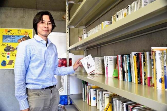 帯広市内に無人古書店オープン 新書や小説など450冊