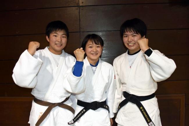 帯広少年団の井上姉妹と三浦出場、全日本マルちゃん杯少年柔道中学女子
