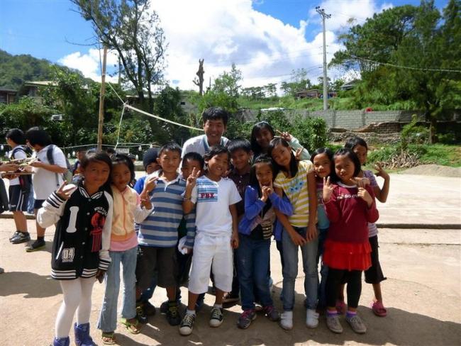 私を変えた旅(3)「フィリピン・大西啓就さん」