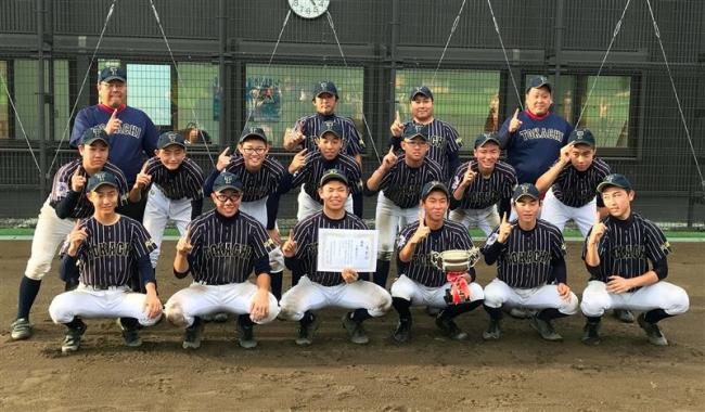 十勝BBC全国へ闘志 全国中学生都道府県対抗野球大会