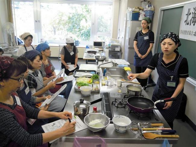 道産米使い料理講習会 芽室