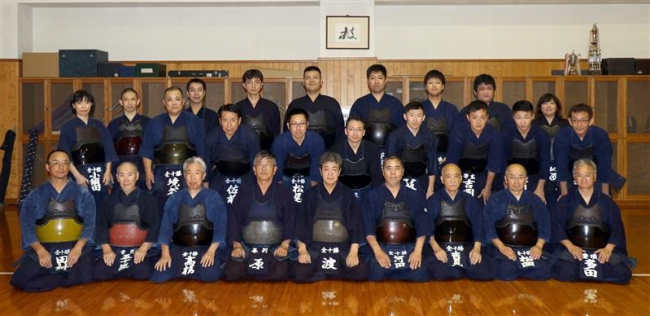 剣道の全十勝軍、道東4地方親善大会対抗戦2年ぶり頂点と高齢者8連覇目指す