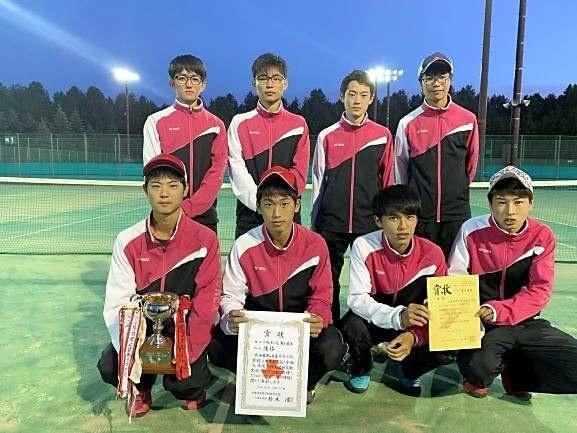 帯農3連覇、女子は帯緑陽2年ぶりV 全十勝高体連新人戦ソフトテニス