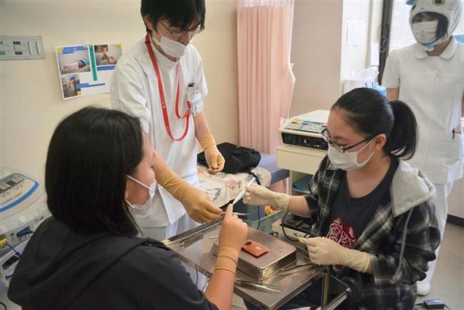 初の「病院まつり」盛況 公立芽室病院