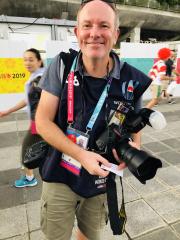 英国スポーツカメラマンのアシュリー・ウエスタン氏