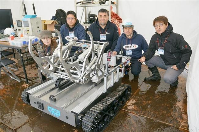 遭難者、ロボットで救え 山岳救助コンテスト 上士幌
