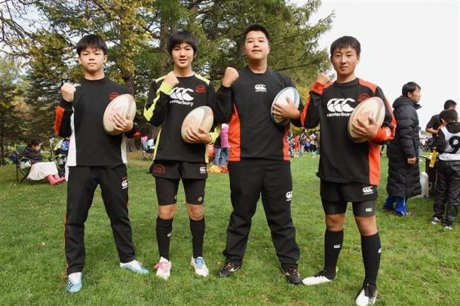 帯広RSから4選手道代表入り 東日本中学生ラグビー大会