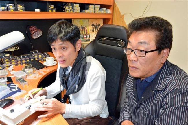 台湾のプロにリード調整技術伝授 池田の川嶋さん