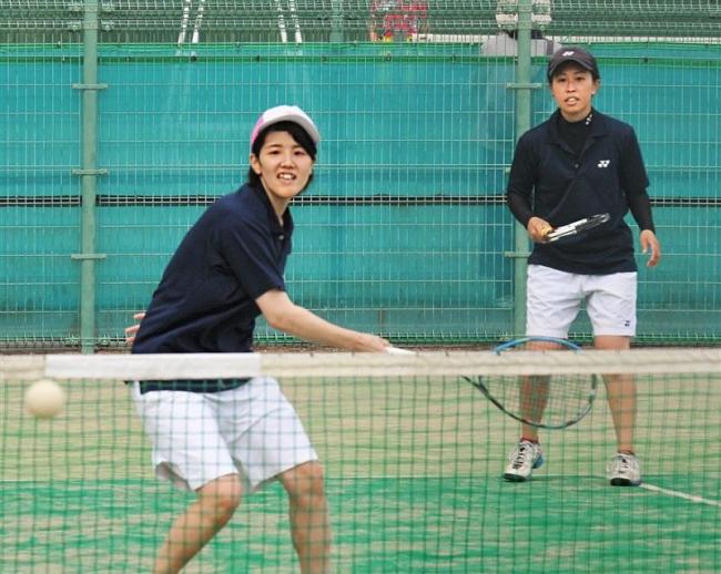 一般女子は橋詰・阿部組、男子は腰山・大内組V 全十勝ソフトテニス選手権