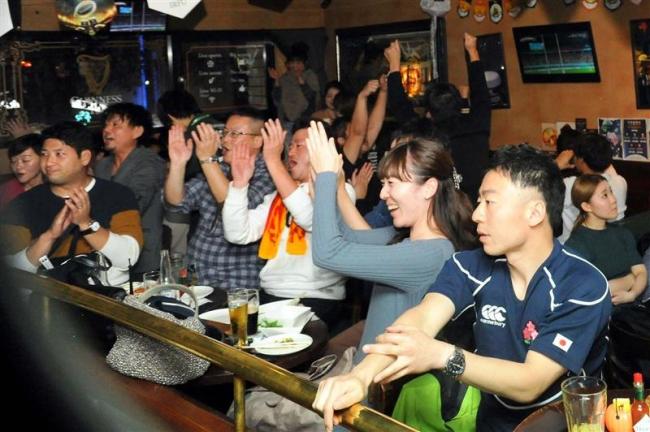 ラグビーワールドカップ 4強ならずもねぎらいの声 十勝