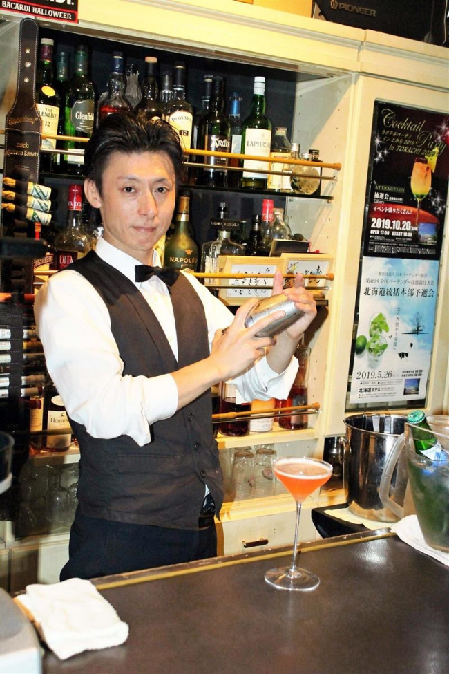 調理技能コンクール カクテル部門で帯広の吉田さんが3位入賞