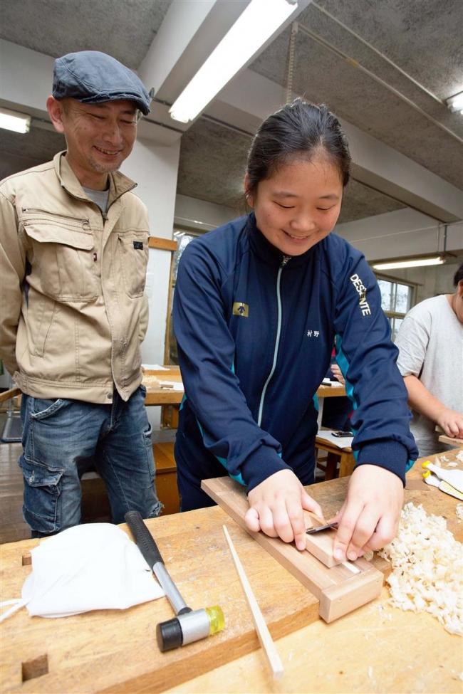 広尾 マイ箸づくりに挑戦 町民ワークショップ