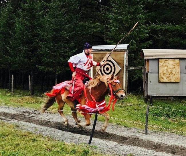 騎射競技大会、A級の部グレゴリーさん優勝 芽室