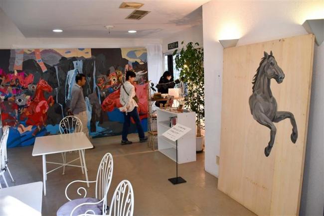 1日から真鍋庭園で「山田天陽の世界展」 帯広観光コンベンション協会
