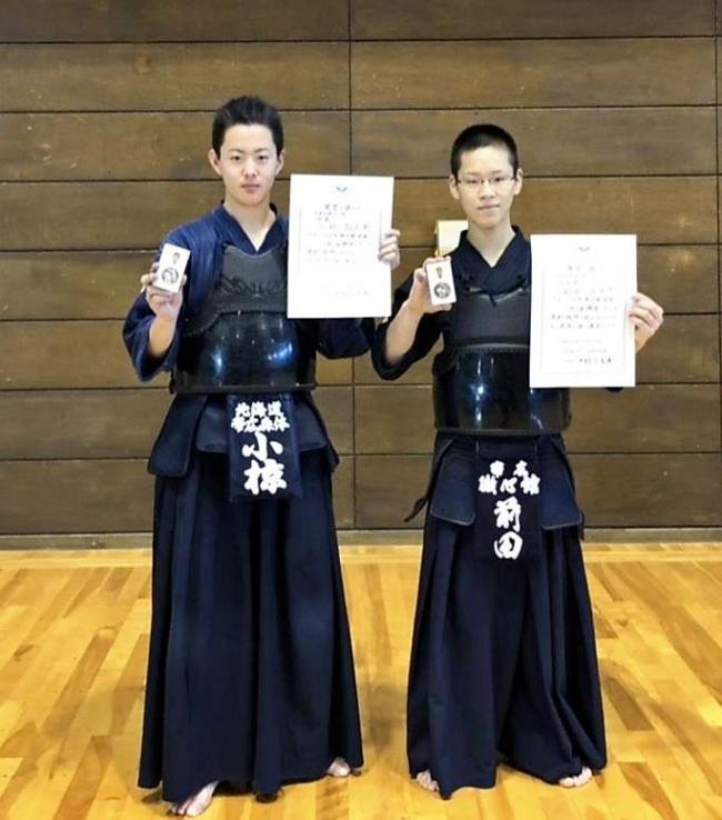 中学男子は小椋、女子は西V 十勝剣道少年団交歓大会