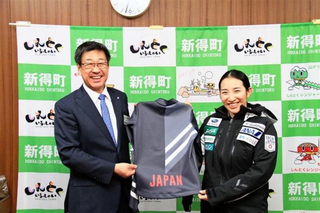 新得 スキークロス平川選手W杯挑戦へ