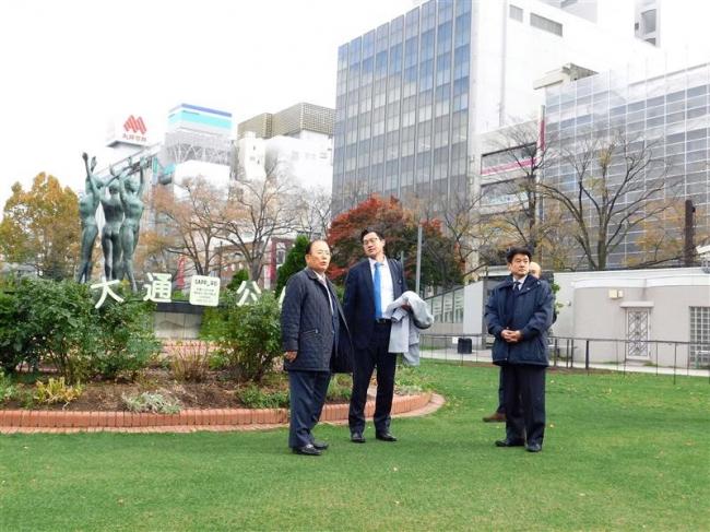組織委の武藤事務総長が札幌のマラソンコース視察 東京五輪